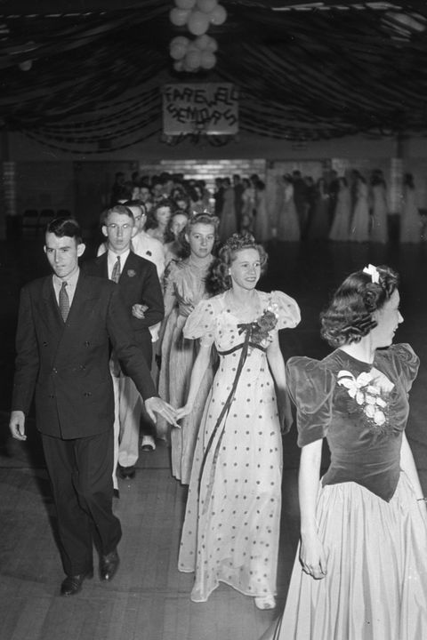 b4f301bdc71 Courtesy of Getty Images. 1940s  The Long Gown ...