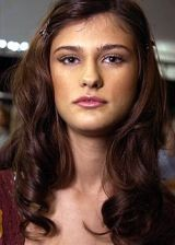 Monique Lhuillier Spring 2005 Ready-to-Wear Backstage 0003