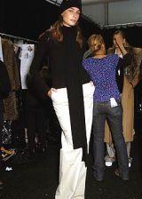 Michael Kors Fall 2005 Ready-to-Wear Backstage 0003