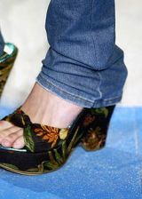 Blue, Product, Shoe, White, Black, Teal, Sandal, High heels, Costume accessory, Basic pump,