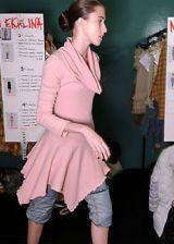 Anna Molinari Fall 2005 Ready-to-Wear Backstage 0002