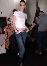 Anna Molinari Fall 2005 Ready-to-Wear Backstage 0003