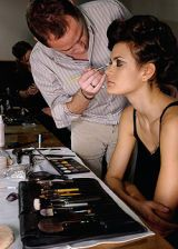 Blumarine Fall 2005 Ready-to-Wear Backstage 0002