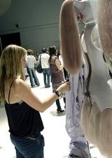 Alexander McQueen Spring 2005 Ready-to-Wear Backstage 0002
