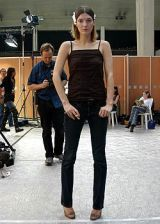 Helmut Lang Spring 2005 Ready-to-Wear Backstage 0002