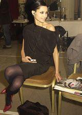 Laurent Mercier Spring 2005 Haute Couture Backstage 0002