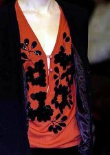 Clements Ribeiro Fall 2005 Ready-to-Wear Detail 0002