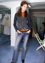 Luisa Beccaria Fall 2005 Ready-to-Wear Backstage 0002