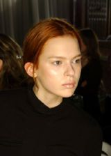 Sophia Kokosalaki Fall 2005 Ready-to-Wear Backstage 0002