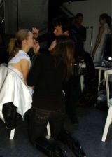 Rick Owens Fall 2005 Ready-to-Wear Backstage 0002