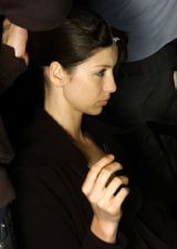 Veronique Branquinho Fall 2005 Ready-to-Wear Backstage 0003