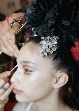 Christian Lacroix Fall 2005 Haute Couture Backstage 0003