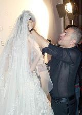 Elie Saab Fall 2005 Haute Couture Backstage 0003