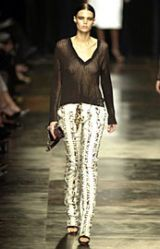 YSL Rive Gauche Spring 2002 Ready-to-Wear Collection 0003