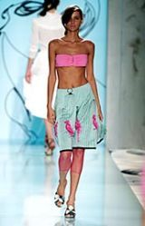 Cacharel Spring 2002 Ready-to-Wear Collection 0003