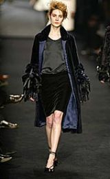 YSL Rive Gauche Fall 2002 Ready-to-Wear Collection 0003