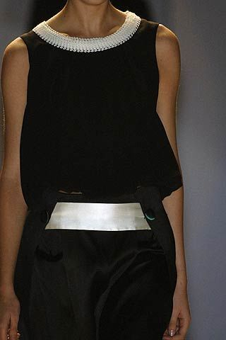 Roberto Musso Spring 2007 Ready-to-wear Detail 0002