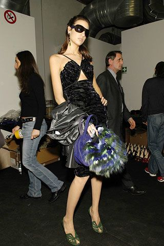 Emporio Armani Fall 2006 Ready-to-Wear Backstage 0002