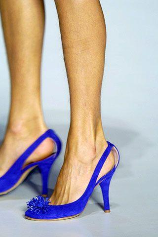 Footwear, Blue, High heels, Human leg, Joint, Basic pump, Sandal, Foot, Electric blue, Tan,