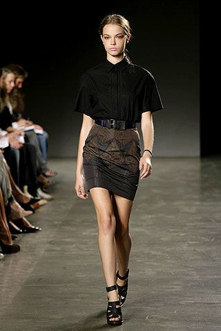 Proenza Schouler Spring 2007 Ready-to-wear Collections 0002