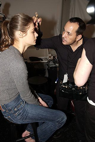 Kenneth Cole Fall 2006 Ready-to-Wear Backstage 0002