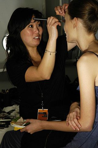 Alexandre Hercovitch Fall 2006 Ready-to-Wear Haute Couture Backstage 0003