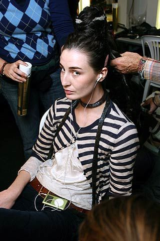 Jean Paul Gaultier Spring 2006 Haute Couture Backstage 0003