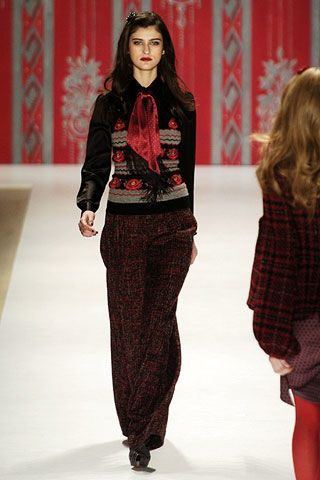 Nanette Lepore Fall 2006 Ready-to-Wear Collections 0002