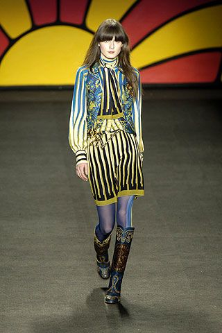 Anna Sui Fall 2006 Ready-to-Wear Collections 0002
