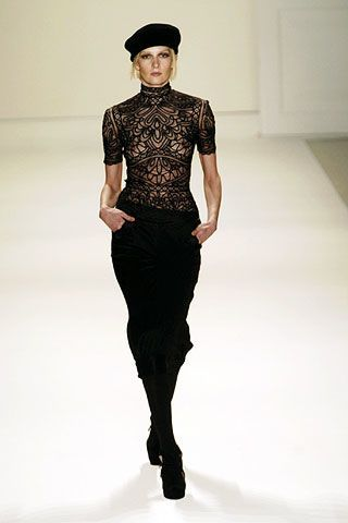 Temperley Fall 2006 Ready-to-Wear Collections 0003