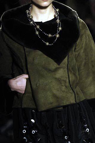 Oscar de la Renta Fall 2006 Ready-to-Wear Detail 0003