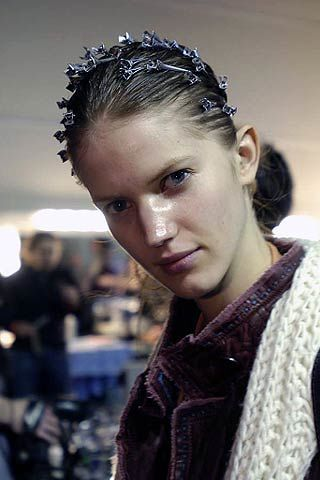 TataNaka Fall 2006 Ready-to-Wear Backstage 0003