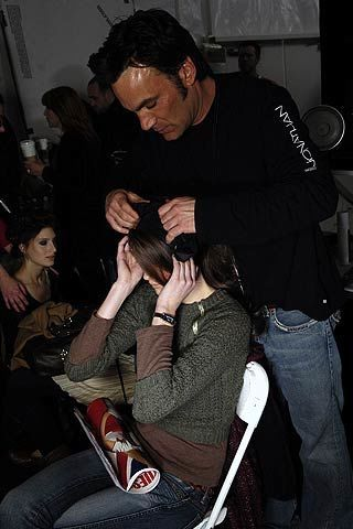 Behnaz Sarafpour Fall 2006 Ready-to-Wear Backstage 0002