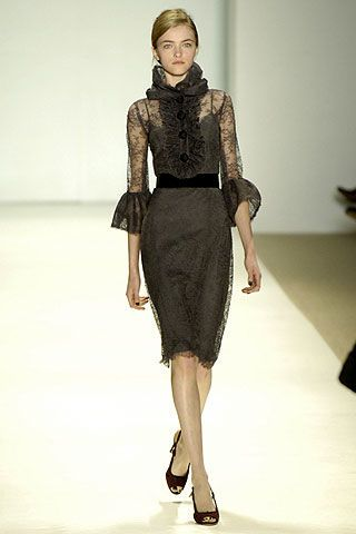 Monique Lhuillier Fall 2006 Ready-to-Wear Collections 0002