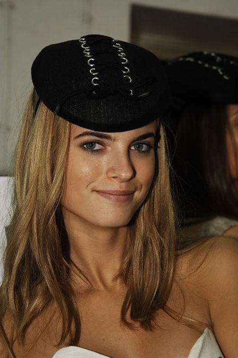 Emma Cook Spring 2007 Ready-to-wear Backstage 0001