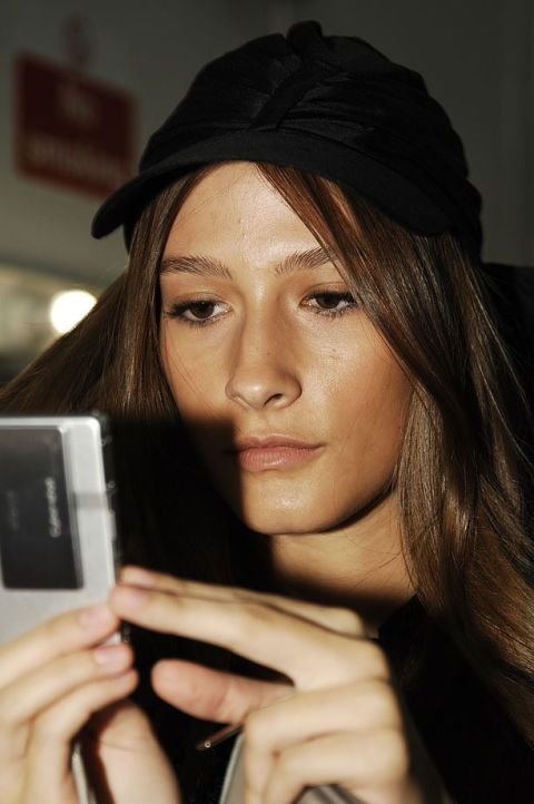Emma Cook Spring 2007 Ready-to-wear Backstage 0003