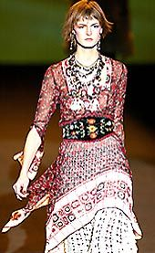 Anna Sui Fall 2002 Ready-to-Wear Collection 0001