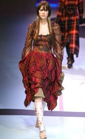 Christian Lacroix Fall 2002 Ready-to-Wear Collection 0001