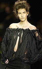 YSL Rive Gauche Fall 2002 Ready-to-Wear Collection 0001