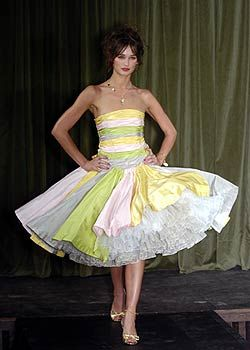 Betsey Johnson Spring 2005 Ready-to-Wear Collections 0001