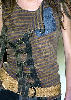 Atsuro Tayama Spring 2005 Ready-to-Wear Detail 0001