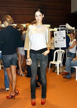 Lagerfeld Gallery Spring 2005 Ready-to-Wear Backstage 0001