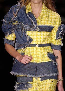 John Galliano Spring 2005 Ready-to-Wear Detail 0001