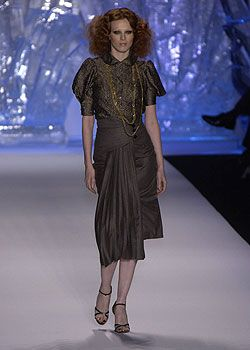 Zac Posen Fall 2005 Ready-to-Wear Collections 0001