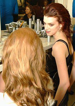 Prada Fall 2005 Ready-to-Wear Backstage 0001
