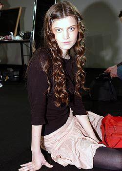 Blugirl Fall 2005 Ready-to-Wear Backstage 0001