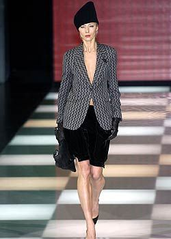 Giorgio Armani Fall 2005 Ready-to-Wear Collections 0001