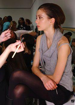 Fendi Fall 2005 Ready-to-Wear Backstage 0001