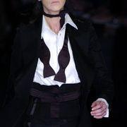 Antonio Berardi Fall 2005 Ready-to-Wear Detail 0001