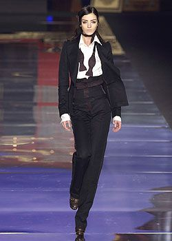 Antonio Berardi Fall 2005 Ready-to-Wear Collections 0001